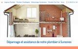 screenshot http://www.ateliers-plombier-suresnes.fr/ plombier à Suresnes