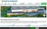 screenshot http://www.ateliersdevignacourt.com/ les ateliers de vignacourt
