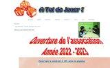 screenshot http://www.atoidejouer.eu/ association a toi de jouer - claye-souilly