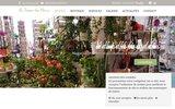 screenshot http://www.au-temps-des-fleurs-34.com bouquets de fleurs