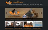 screenshot http://www.au-trans-porteur.com au trans-porteur
