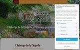 screenshot http://www.auberge-chapelle.com auberge de la chapelle situé à yvelines 78