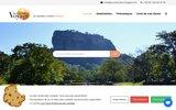 screenshot http://www.aucoeurduvoyage.com/ Au Coeur du Voyage - Voyages sur mesure Océan Indien et Polynésie française