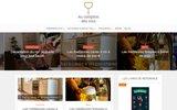 screenshot http://www.aucomptoirdesvins.fr vente de vins sur au comptoir des vins