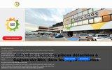screenshot http://www.autochoc.fr autochoc pieces auto