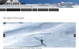 screenshot http://www.aventures-ski.com aventures ski - ecole de ski hors piste
