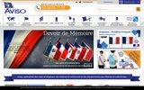 screenshot http://www.aviso-drapeaux.com/ drapeau