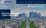 screenshot http://www.avocat-birs.com avocat prud'hommes 92