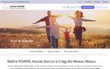 screenshot http://www.avocat-poirier.fr/ avocat compétent en droit pénal lille