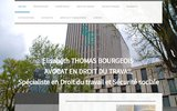 screenshot http://www.avocat-thomas-bourgeois.com avocat