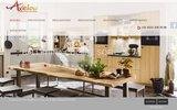 screenshot http://www.axelou.ch home  axelou, agencements cuisines, agencement exterieur, terrasse bois, salle de bains, dressings