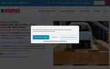 screenshot http://www.azedpack.com azedpack, spécialiste du collage industriel