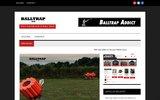 screenshot http://www.balltrap.net/ Blog sur le Ball Trap