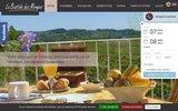 screenshot http://www.bastidedesmonges.com/ hotel nyons : la bastide des monges