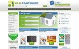 screenshot http://www.bati-traitement.fr/ Produits de traitement du b�timent