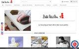 screenshot http://www.bebepetitpom.fr/ BébéPetitPom