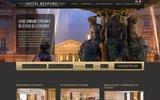 screenshot http://www.bedford-conference-restaurant.com/ Le Bedford hôtel