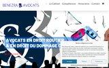 screenshot http://www.benezra.fr avocat permis - avocat automobile