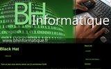 screenshot http://www.bhinformatique.fr société de services en ingéniere informatique
