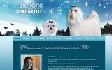 screenshot http://www.bichonsnowbelle.com bichons snowbelle : Élevage de bichons maltais