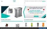 screenshot http://www.binea.fr binea.fr : votre poubelle objet déco