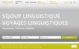 screenshot http://www.boalingua.fr boa lingua séjours linguistiques