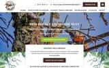 screenshot http://www.boisbocageenvironnement.com élagage à Andrezé 49