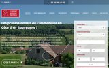 screenshot http://www.bourgognealesia.com Cabinet Bourgogne Alésia