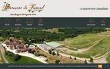 screenshot http://www.boutique-favard.com foie gras  confit de la ferme de favard
