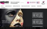 screenshot http://www.breardcom.fr Bréard Communication est une entreprise de communication opérationnelle.