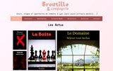 screenshot http://www.broutille.org broutille et compagnie théâtre à lyon