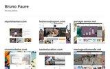 screenshot http://www.brunofaurebroderie.fr broderie d'art haute couture