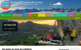 screenshot http://www.bureau-guides-luchon.com bureau des guides de luchon