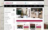 screenshot http://www.cadeauvin.fr/ vin