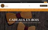 screenshot http://www.cadeaux-en-bois.fr/ cadeaux-en-bois.fr - cadeaux en bois et cadeau original