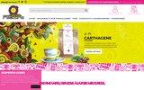 screenshot http://www.cafes-albert.fr cafés albert : vente en ligne de café en grain, moulu et en dosette - les cafés albert torrefacteur