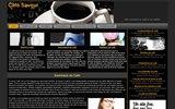 screenshot http://www.cafesaveur.net café saveur