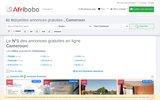 screenshot http://www.camerpages.net annuaire des sites web et entreprises du cameroun