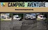 screenshot http://www.camping-aventure.ch camping-aventure - location camping car et caravane - fribourg