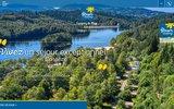 screenshot http://www.camping-correze.com camping flower la plage treignac/vézère