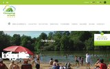 screenshot http://www.camping-coulvee-chemille.com camping pres du puy du fou