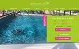 screenshot http://www.camping-des-conches.fr/ Camping trois étoiles
