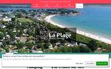 screenshot http://www.camping-plage.net camping de la plage à la trinités sur mer