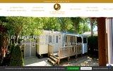 screenshot http://www.campingdevendee.fr accueil dans les campings du pays de monts