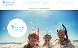 screenshot http://www.campingkarregskividen.com camping en Bretagne sud