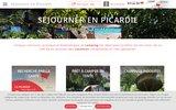 screenshot http://www.campings-picardie.com les campings de picardie