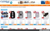 screenshot http://www.canishop.com canishop boutique enligne accessoire canin