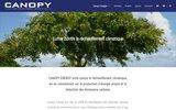 screenshot http://www.canopy-energy.com centrale photovoltaique