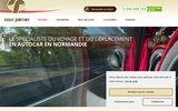 screenshot http://www.cars-perier.fr cars périer, autocars en haute-normandie