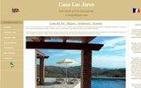 screenshot http://www.casalasjaras.com/fr.htm location de vacances - villa avec piscine malaga